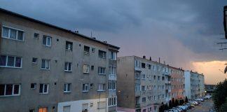Furtună cod galben Ploi-Alesd