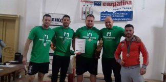 Cristian Silaghi la Cupa Hercules la powerlifting Băile Herculane