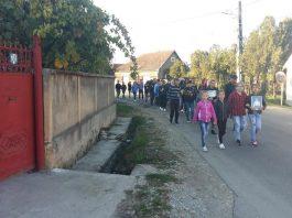 Marș în memoria lui Gabriel Cudi, tânărul ucis cu o motocoasă în Țețchea