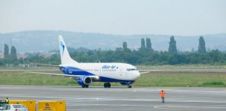 """Din 2018, Compania """"Blue Air"""", va avea 7 zboruri săptămânal, la #București"""