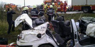 Accident rutier pe raza localității Inand, trei persoane au fost rănite