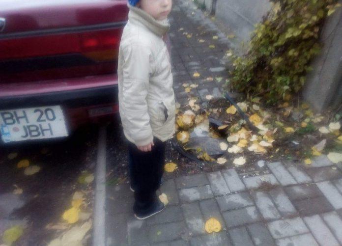 COPIL CĂZUT ÎNTR-UN CANAL ÎN ALEȘD