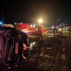 Lugașu de Jos accident 19.12.2017 - alesdonline