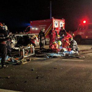 Accident Lugașu de Jos 19.12.2019