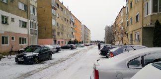 zăpadă Aleșd-3