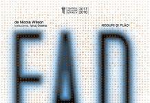 Comunicat de presă - A doua premieră națională din acest an a Trupei Iosif Vulcan: F.A.D.