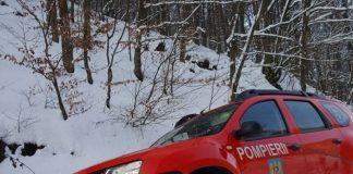 Pompieri Aleșd Dacia Duster