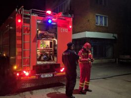 pompieri Aleșd incendiu horn-1