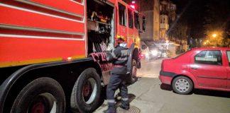 pompieri Aleșd incendiu horn-4