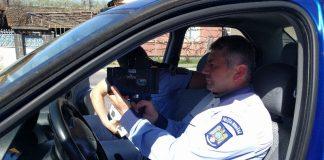 pistol radar poliția rutieră Aleșd-8