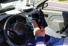 polița Aleșd pistol radar