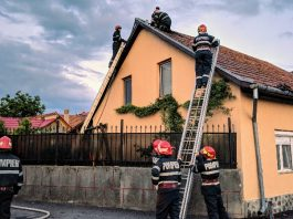 Incendiu din cauza unui horn la Aleșd-800x450