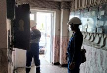 Un incendiu la un tablou electric a creat panică într-o scară de bloc din Aleșd 3-800x450