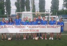 fotbal fete Colegiul tehnic Alexandru Roman din Aleșd-800x450