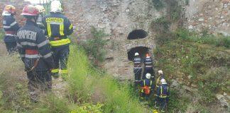 Exercițiu ISU BIHOR, la Cetatea Oradea. Simulare de intervenție în urma unui cutremur -800x450