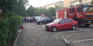 Explozie într-un bloc din Oradea din cauza unei butelii-800x450