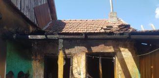 incendiu la o gospodărie situată în localitatea Sânnicolau Român-800x600