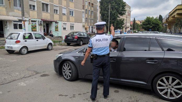 poliția orașului Aleșd amenzi