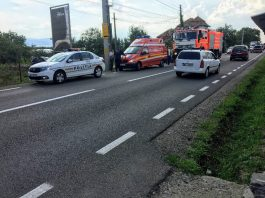 Accident pe DN1 la Groși 10.08.2018~2-800x600