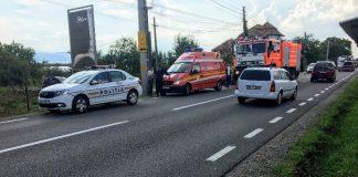 Accident pe DN1 la Groși 10.08.2018~2-800x600
