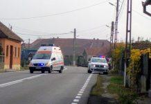 poliția accident