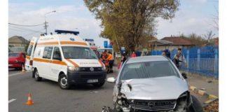 Accident pe Clujului în Oradea 3