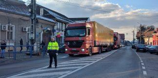 polița rutieră circulatie blocată-800x450