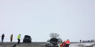 Accident, între Oradea şi Arad-600x450
