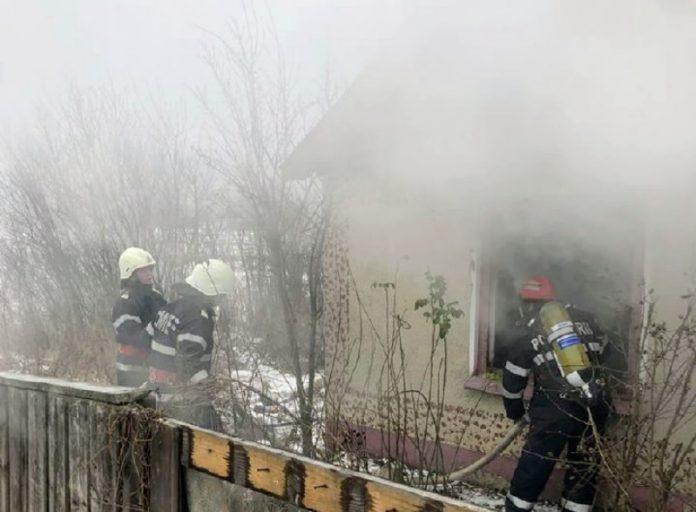 Incendiu locuință Cadea