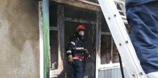 incendiu Căpâlna