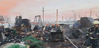 Incendiu la o societate comercială din Oradea-800x600