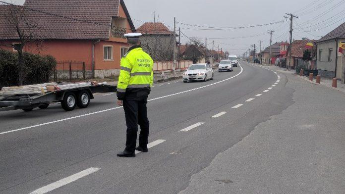poliția rutieră Aleșd 2019