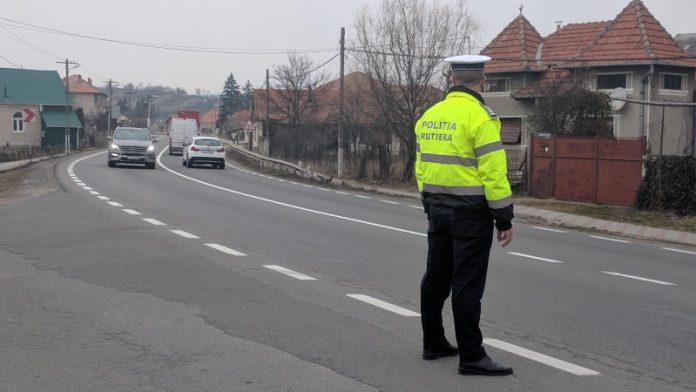 poliția rutieră Aleșd