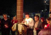 """La Biserica """"Nașterea Sfântului Ioan Botezătorul din Aleșd"""