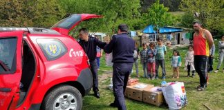 donație Aleșd pompieri