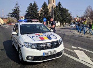 poliția orașului Aleșd 2019