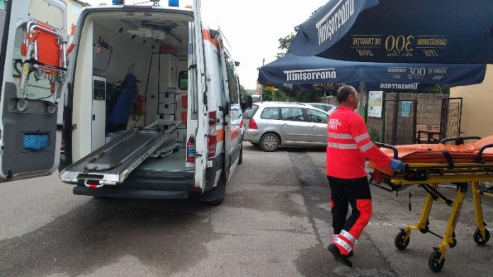 ambulanța Aleșd victima