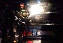incendiu mașină Bratca