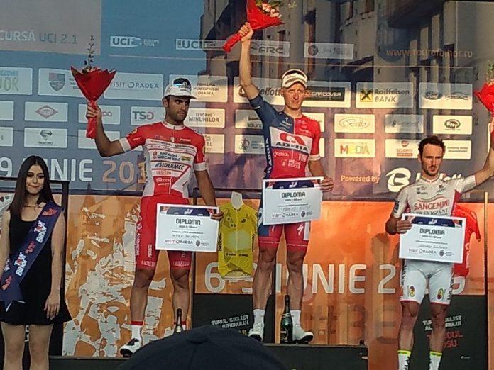 Rutierul sloven Marko Kump a câştigat prima etapă a Turului Ciclist al Bihorului