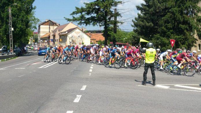 cicliști prin Aleșd