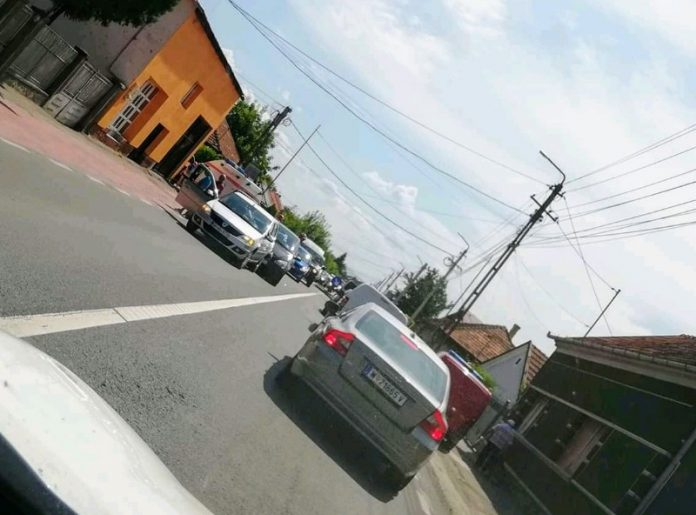 Accident in Aleșd