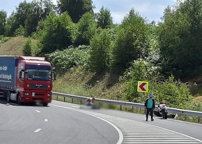 Accident motocicleta Șinteu