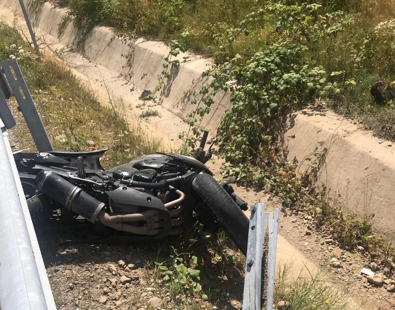 accident Şinteu motocicleta 3