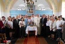 """corul """"Glasul Credinței"""" al Bisericii """"Nașterea Sfântului Ioan Botezătorul"""" din Aleșd"""