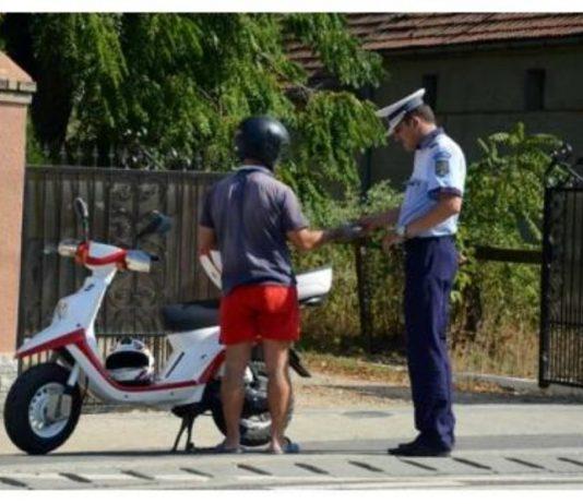scuter fără permis