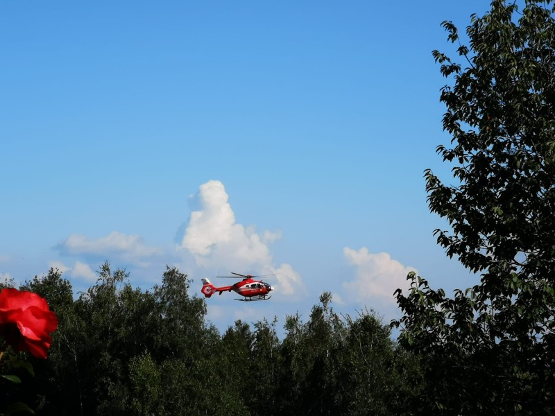elicopter smurd Șinteu