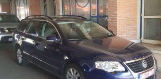 mașină găsită Vama Borș