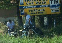 motociclist accidentat la Urvind