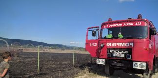 pompierii parc Tinăud