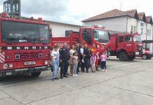 statia de pompieri din Aleșd